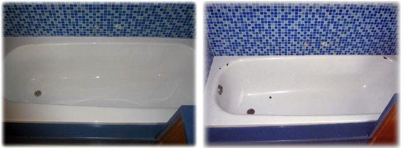 תיקון אמבטיה. חידוש אמבטיה